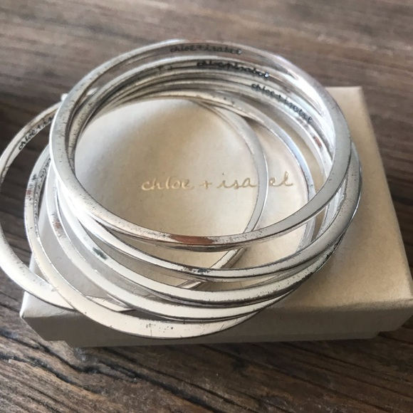 Chloe + Isabel Jewelry - Bangle set - 6